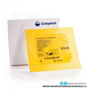 Aposito Comfeel Transparente 10x10cm Coloplast