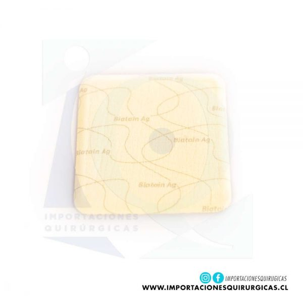 Biatain No Adhesivo Ag 10x10 cm Coloplast