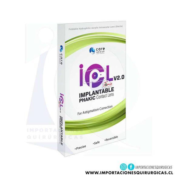 IPCL V2 Torico Lente