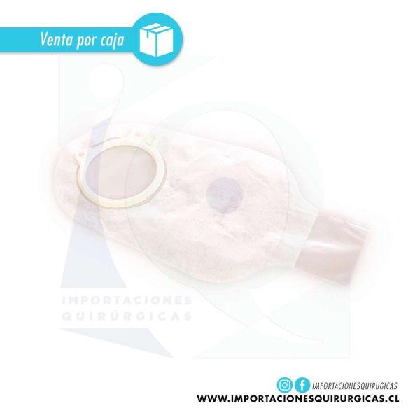 Bolsa ostomia alterna drenable transparente 60 mm dos piezas Coloplast caja 30 unidades