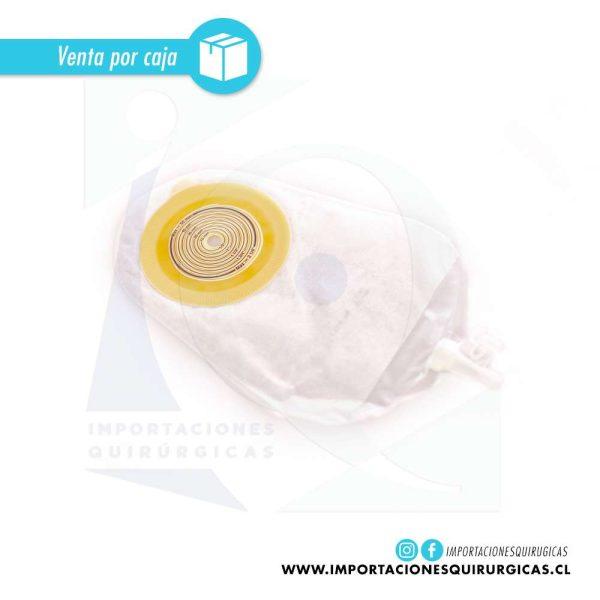 Alterna Bolsa Urostomia Drenable Transparente 1 Pieza Coloplast caja 30 unidades