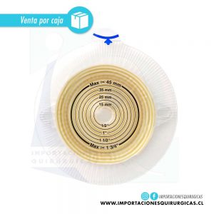 Alterna Disco Plano Extra Adhesivo 40mm (Urostomia-Ileostomia) Coloplast venta 5 uniades