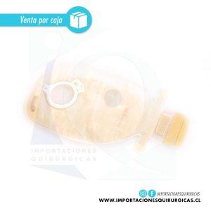 Bolsa Ostomía Alterna Free Drenable Transparente 60mm Caja 30 unidades