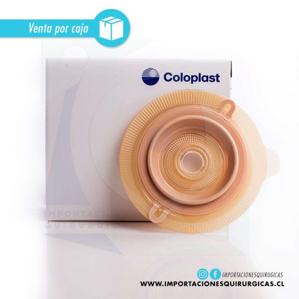 Contenedor Desechable Alterna Swiss Roll Convexo 60ml Coloplast Caja 4 unidades